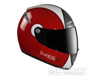 Přilba Lazer Fiber D1 Mk-II - barva červená, velikost XS