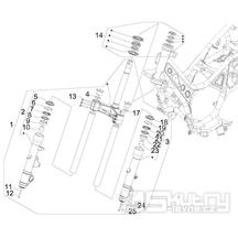 4.02 Tyč řízení - Gilera GP 800 2009-2011 (ZAPM5510...)