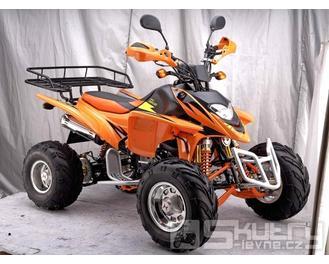 Shineray XY 250 STXE - barva oranžová
