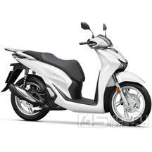 Honda SH 125i ABS E5 Smart top Box - barva bílá