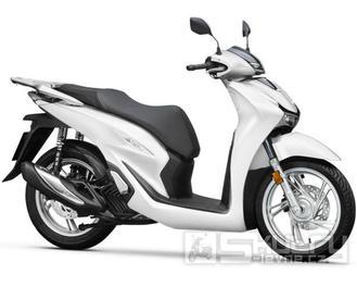 Honda SH 125i ABS + Smart top Box - barva bílá