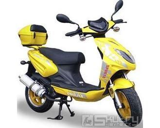 Motorro TRIA 50 - barva žlutá