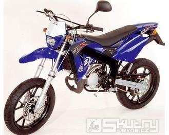 Rieju SPIKE X 50 - barva modrá