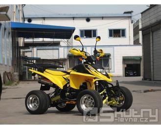 Čtyřkolka Shineray XY 250 STXE, 250cc - barva žlutá