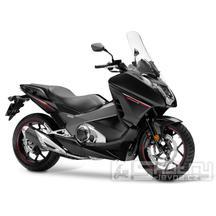 Honda Integra 750 - barva černá