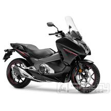 Honda Integra 750 DTC - barva černá
