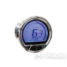 Digitální otáčkoměr KOSO DL-02R - kulatý 55mm, LCD displej
