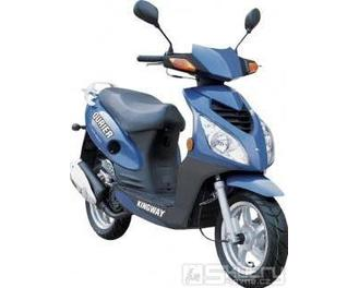 Kingway QURIER 50 ccm - barva modrá
