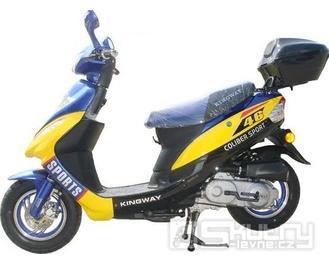 Kingway Coliber SPORT 50 - barva žlutá/modrá