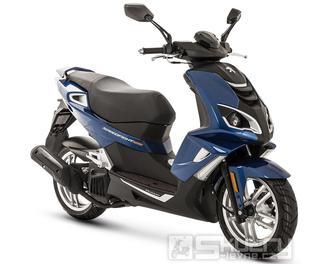 Peugeot Speedfight 4 125i  Euro 4 - barva tmavě modrá