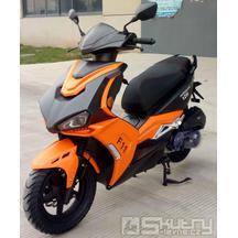 MPKorado F11 Grim 125i - barva černá / oranžová