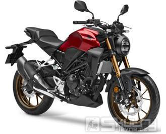 Honda CB300R Neo Sports Café - barva červená