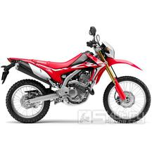 Honda CRF250L - barva červená