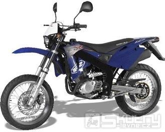 Rieju SMX 125 - barva modrá