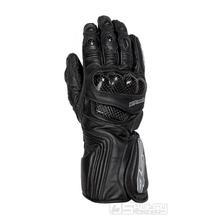 Moto rukavice 4SR SR 001 - barva černá, velikost M