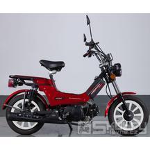 Moped MPKorado Supermaxi 50ccm EFI - barva červená