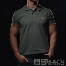 Tričko 4SR Polo Army - velikost M