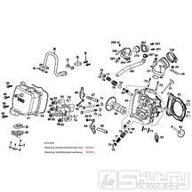 E02 Hlava válce - Kymco Grand Dink 250
