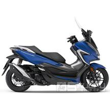 Honda Forza 350 E5 - barva modrá