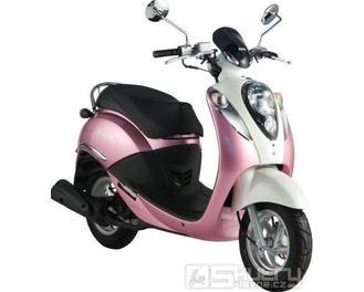 Sym Mio 50 - barva růžová
