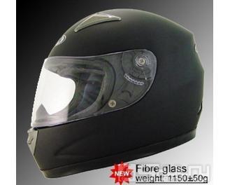 H 810 integrální přilba MAXX FIBRE GLASS - velikost XS, barva černá matná