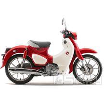 Honda Super Cub C125 ABS - barva červená