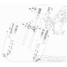 4.02 Tyč řízení - Gilera GP 800 2009 (edice 100. výročí - ZAPM5510...)