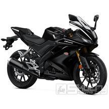 Yamaha R125 - barva černá
