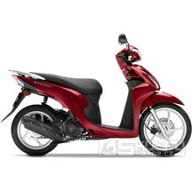 Honda Vision 110 E4 - barva červená