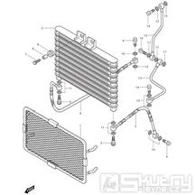 03 Olejový chladič - Hyosung GV 250i
