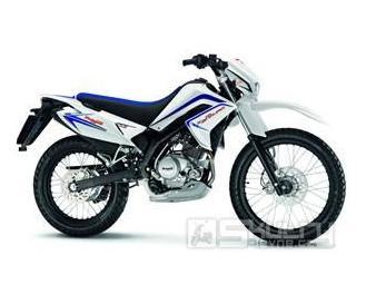 Malaguti X3M Enduro 125 ccm - barva bílá