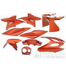 Kapotáž Aerox Nitro - 9 dílů - oranžová
