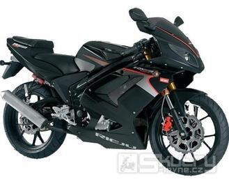 Rieju RS2 125 - barva černá