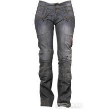 Moto kalhoty 4SR Jeans Lady Star Grey
