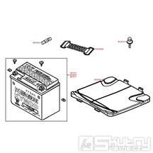 F11 Baterie a pojistky - Kymco Vitality 50 2T