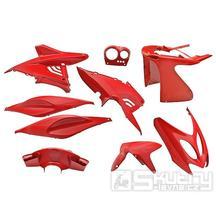Kapotáž Aerox Nitro - 9 dílů - červená