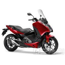 Honda Integra 750 DTC - barva červená
