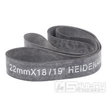 """Gumový pásek Heidenau do ráfku o šířce 22mm pro 18 až 19"""" ráfek"""