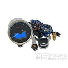 Otáčkoměr KOSO GP Style II - 9.000 ot. / min černý