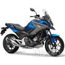 Honda NC750X - barva modrá