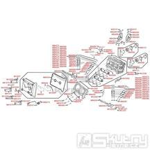 E02 Hlava válce a ventily - Kymco MyRoad 700i ABS SAADAB