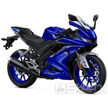 Yamaha R125 - barva modrá