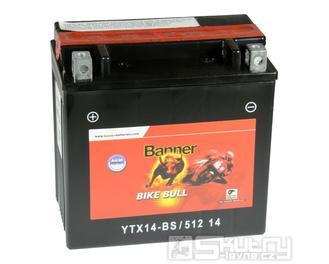 Gelová baterie Banner YTX14-BS