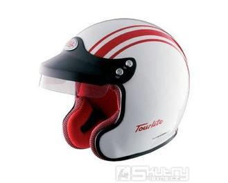 Přilba Bell Tourlite Daytona - velikost XS, barva bílá/červená