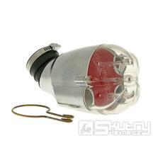 Vzduchový filtr Doppler Power Air - stříbrný [červená pěna]
