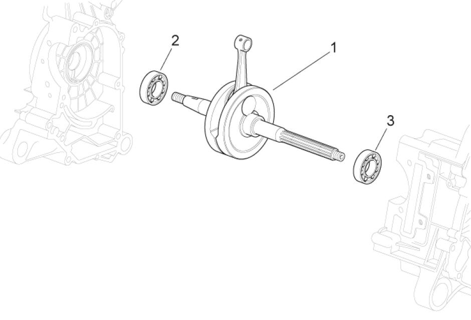 29.30 Kliková hřídel - Scarabeo 50 4T 4V E2 2009 (ZD4TGE00)