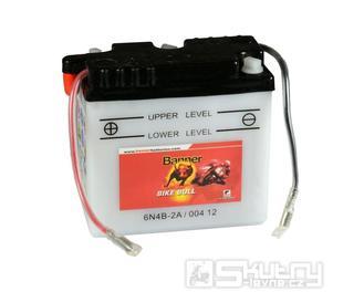 Olověná baterie Banner 6N4B-2A