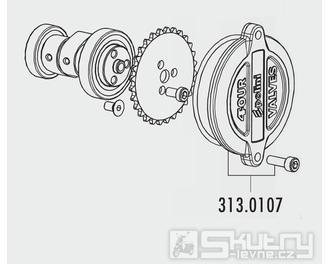 Boční víko (vačkové hřídele) 4-ventilové hlavy válce