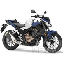 Honda CB500F - barva bílá/modrá