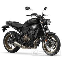 Yamaha XSR700 - barva černá